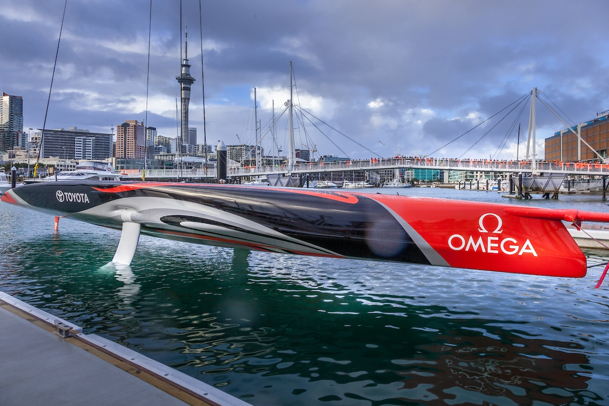 Armare Ropes for Emirates Team New Zealand AC75