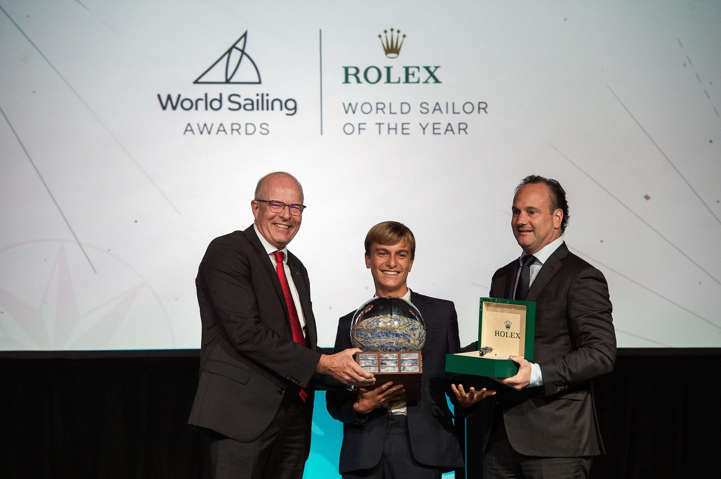 Marco Gradoni ROLEX WORLD SAILOR OF THE YEAR 2019